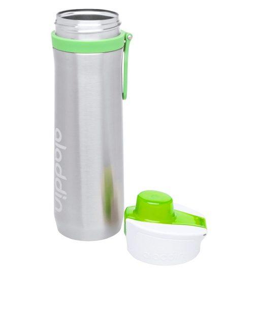 Aladdin Active Hydration Stainless Steel Bottle 600ml Green