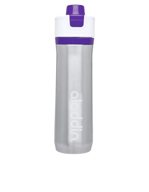 Aladdin Active Hydration Stainless Steel Bottle 600ml Purple