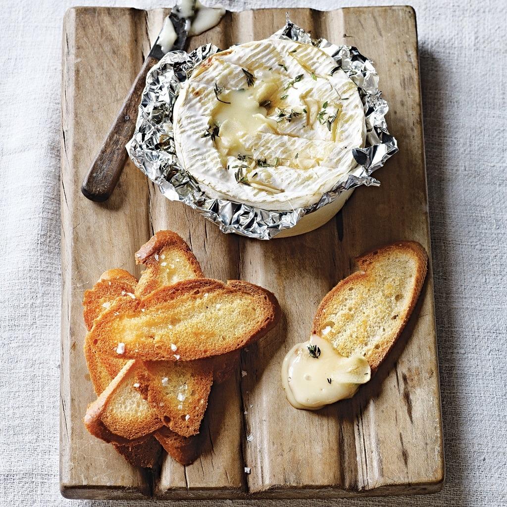 Delicious Braai-Baked Camembert