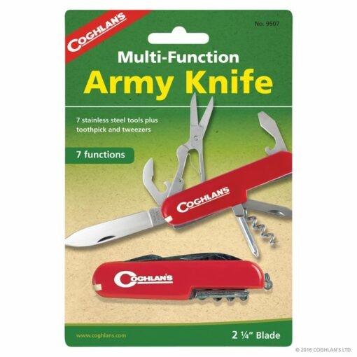 COGHLANS ARMY KNIFE 7-FUNCTION