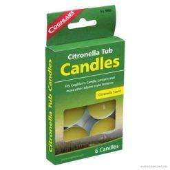 Coghlans Citronella Tub Candles