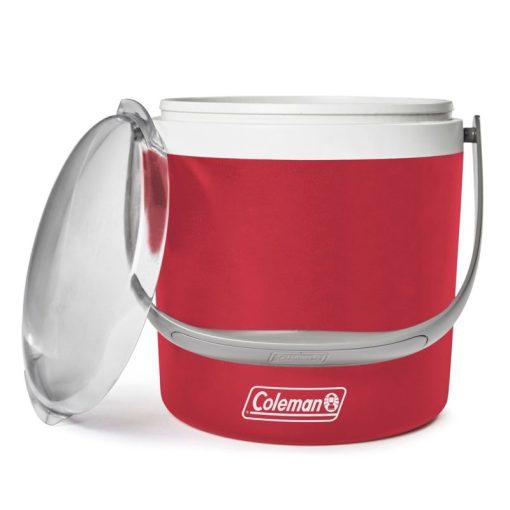 Coleman 9qt Party Circle Cooler Red