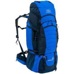 Highlander Expedition 85L Backpack Blue