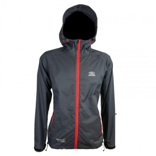 Highlander Stow and Go Jacket Charcoal