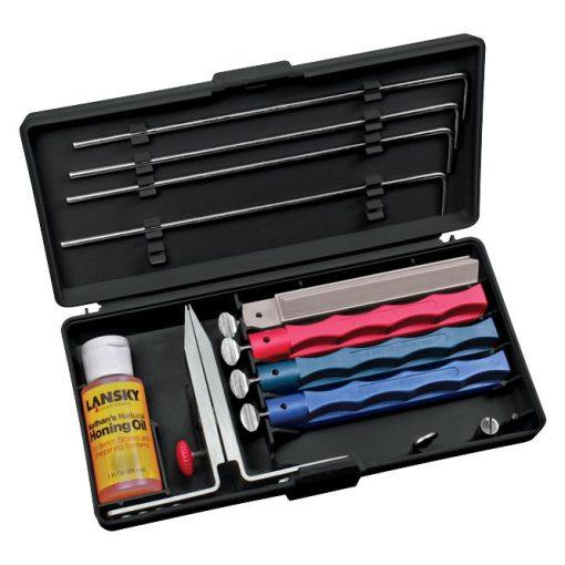 Lansky Universal 4-stone Knife Sharpener