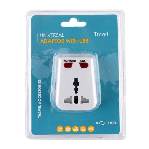 LeisureQuip Universal Travel Adaptor with USB