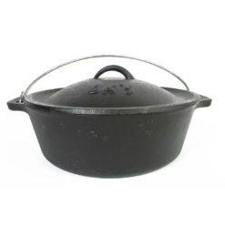 Lk's Bake Pot No 10 Cast Iron