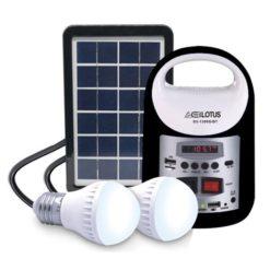 Lotuson Solar Lighting S3-1399BT