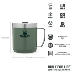 Stanley Classic Legendary Camp Mug Green