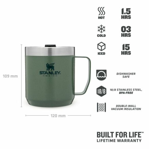 Stanley Classic Legendary Camp Mug Green