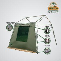Tentco Junior Gazebo Side Wall with Window