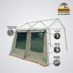 Tentco Senior Gazebo Sidewall