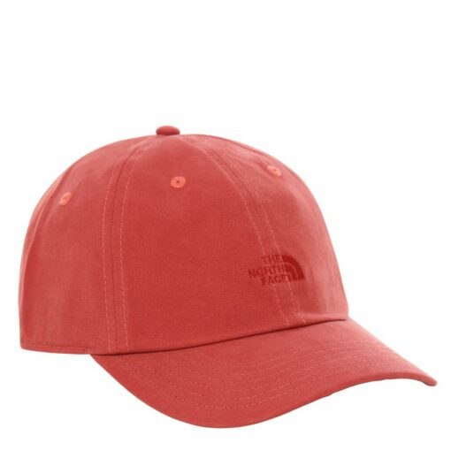 tnf-washed-norm-hat-red