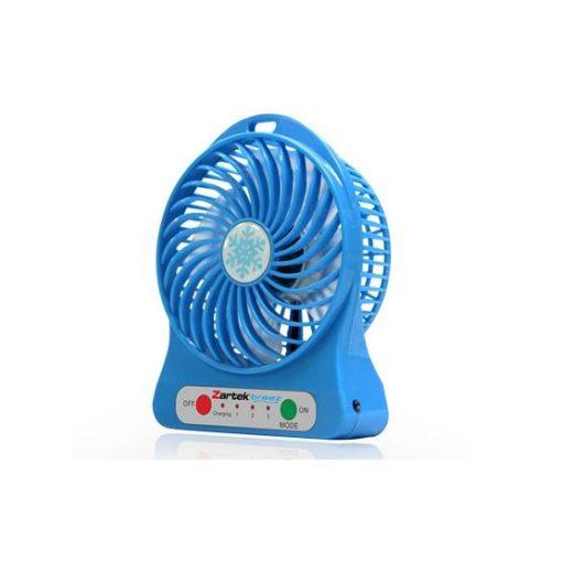 Zartek Breez Fan Blue